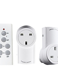 cheap -Broadlink 1 to 2 UK Plug Wireless RF Remote Control Switch for Smart Home Use with RM Pro+