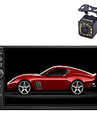 baratos -BYNCG 7 polegada 2 Din outro OS Micro USB / MP3 / Sem fio Integrado para Universal Apoio, suporte / Tela de toque / AVI / JPEG / MP4