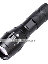 cheap -LED Flashlights / Torch LED 2000lm 5 Mode Zoomable / Adjustable Focus / Impact Resistant Camping / Hiking / Caving / Everyday Use /