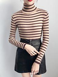 preiswerte -Damen Kaschmir Langarm Pullover - Solide