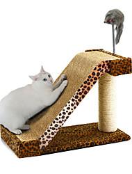 economico -Gatto Lettini Disegni a mano libera Fogli e lavoretti con la carta Animali domestici Lenzuola Leopardata Leopardo Per animali domestici