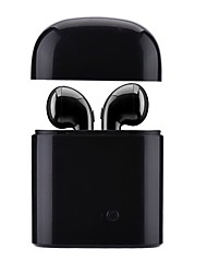 cheap -TWS-I7s Earbud Wireless Headphones Piezoelectricity Plastic Driving Earphone With Charging Box / with Microphone Headset