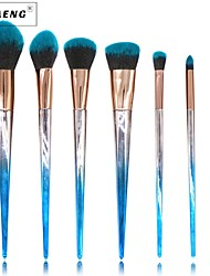 cheap -7 pcs Makeup Brushes Professional Makeup Brush Set / Blush Brush / Eyeshadow Brush Nylon / Synthetic Hair Professional / Soft / Full