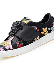 preiswerte -Schuhe PU Frühling Herbst Komfort Sneakers für Draussen Weiß Rot