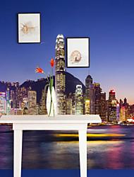 Недорогие -Ар деко 3D Украшение дома Современный Пейзаж Облицовка стен материал Клей требуется фреска , Обои для дома