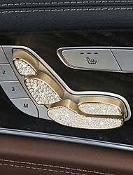 Недорогие -автомобильные электрические сиденья регулировка охватывает DIY автомобильных интерьеров для mercedes-benz 2016 2017 e300l кристалл