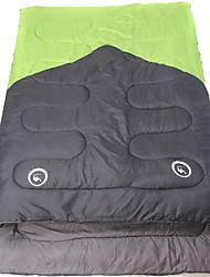Недорогие -Спальный мешок Двойная ширина 10°C Влагонепроницаемый Водонепроницаемость Компактность Складной Воздухопроницаемость Прямоугольник 180X30