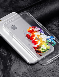 Custodia Per Apple iPhone X iPhone 8 Transparente Fantasia/disegno Custodia posteriore Cartoni animati Morbido TPU per iPhone X iPhone 8