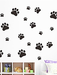 abordables -Animaux Forme Stickers muraux Autocollants avion Autocollants muraux 3D Autocollants muraux décoratifs Autocollants mariage, Vinyle Papier