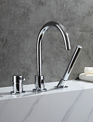 cheap -Bathtub Faucet - Contemporary Chrome Tub And Shower