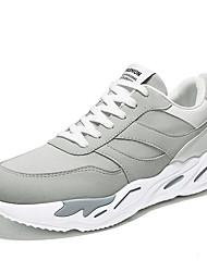 Недорогие -Муж. обувь Свиная кожа Тюль Весна Лето Обувь для дайвинга Удобная обувь Спортивная обувь Беговая обувь Оборки сбоку для Повседневные на