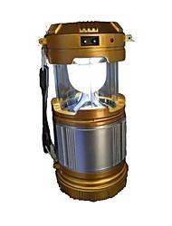 Недорогие -Походные светильники и лампы Аварийные лампы 90 lm Светодиодная лампа - излучатели Автоматический Режим освещения с батарейками Плотное облегание Простой Солнечная энергия