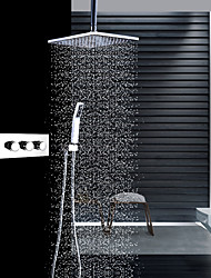 economico -Rubinetto doccia - Moderno Cromo Montaggio a soffitto Valvola in ceramica