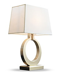 cheap -Metallic Decorative Table Lamp For Bedroom Metal White