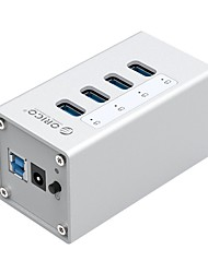 cheap -ORICO 7 USB Hub USB 3.0 USB 3.0 High Speed Data Hold Input Protection Over Range Protection Data Hub