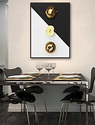 abordables -Abstrait Nourriture Illustration Art mural,PVC Matériel Avec Cadre For Décoration d'intérieur Cadre Art Salle de séjour Intérieur
