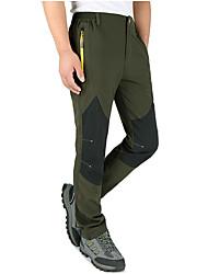 abordables -Hombre Pantalones para senderismo Impermeable, Mantiene abrigado, Resistente al Viento Esquí / Deportes de Invierno Nailon Pantalones /
