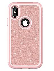 preiswerte -Hülle Für Apple iPhone X / iPhone 8 Plus Stoßresistent Ganzkörper-Gehäuse Rüstung Hart TPU für iPhone X / iPhone 8 Plus / iPhone 8
