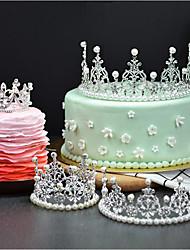Недорогие -Украшения для торта Сказка Романтика День рождения Принцесса Симпатичные Стиль Сплав Свадьба День рождения с Стразы 1 Пенополиуретан