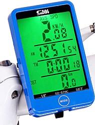 Недорогие -576C Велокомпьютер Водонепроницаемость / Компактность / Odo - одометр Велосипедный спорт / Велоспорт Велоспорт