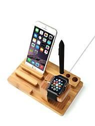 Недорогие -Apple Watch iPhone 7 Plus Стенд с адаптером Other Бамбук Стол