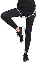 economico -Per donna Collant da corsa - Nero Gli sport Calze / Collant / Cosciali / Leggings Abbigliamento sportivo Asciugatura rapida