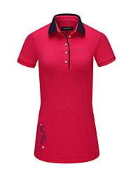 abordables -Femme Golf Robes Séchage rapide Pare-vent Vestimentaire Respirabilité Golf Activités Extérieures
