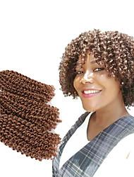 cheap -Braiding Hair Curly / Mali Twist Twist Braids 3pcs / pack Hair Braids Short New Arrival