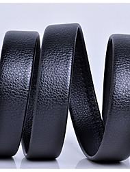 economico -Per uomo vera pelle Casual Nero Cachi Per il girovita