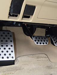 Недорогие -автомобильный акселератор педаль тормоза педаль сцепление педаль дий автомобильные салоны для toyota 2010 2011 2012 2013 2014 2015 prado
