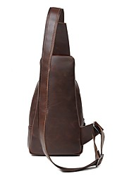 cheap -4 L Sling & Messenger Bag Hiking Camping Anti-Slip PU Leather