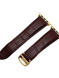 Недорогие -Ремешок для часов для Apple Watch Series 2 Apple Watch Series 1 Apple Классическая застежка Натуральная кожа Повязка на запястье