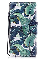 cheap -Case For Sony Sony Xperia XA Xperia XZ1 Compact Xperia XZ1 Card Holder Wallet with Stand Flip Magnetic Pattern Full Body Cases Tree Hard