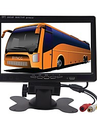 abordables -BYNCG 7M 848 x 480 DVR de voiture 170 Degrés Grand angle CMOS 7inch Moniteur TFT LCD Dash Cam avec Mode Parking 1 LED infrarouge