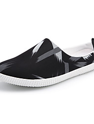 cheap -Men's Shoes Fabric Spring Fall Comfort Slippers & Flip-Flops for Casual Black/White Black/Red Black/Blue