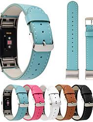 economico -Cinturino per orologio  per Fitbit Charge 2 Fitbit Chiusura classica Vera pelle Custodia con cinturino a strappo