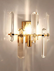 cheap -QIHengZhaoMing Crystal Contemporary Living Room / Study Room / Office Metal Wall Light IP20 110-120V / 220-240V 5W