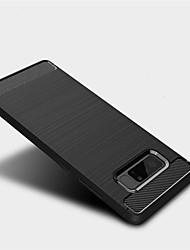 preiswerte -Hülle Für Samsung Galaxy Note 8 Mattiert Rückseite Volltonfarbe Weich TPU für Note 8