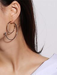 cheap -Women's Drop Earrings - Fashion Gold / Silver For Daily / Bar