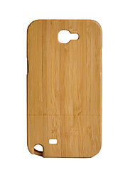 cheap -Case For Samsung Galaxy Shockproof Wood Grain Hard for