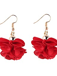 cheap -Women's Floral Drop Earrings - Floral Korean Petal For Daily Prom