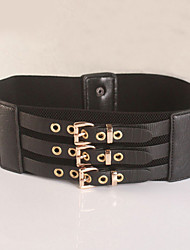cheap -Women's Vintage Casual Fabric Wide Belt