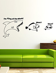 cheap -Animals Modern Wall Stickers Plane Wall Stickers Decorative Wall Stickers,Vinyl Home Decoration Wall Decal Window Wall