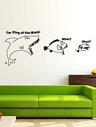 Недорогие -Животные Модерн Наклейки Простые наклейки Декоративные наклейки на стены, Винил Украшение дома Наклейка на стену Стена Окно