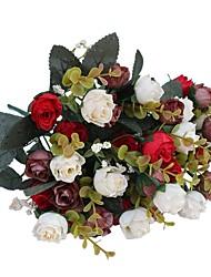 Недорогие -Искусственные Цветы 2 Филиал Пастораль Стиль Розы Букеты на стол