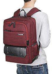"cheap -Nylon Solid Backpacks 17"" Laptop"