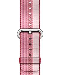 abordables -Bracelet de Montre  pour Apple Watch Series 4/3/2/1 Apple Boucle Moderne Nylon Sangle de Poignet