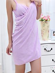 cheap -Fresh Style Bath Towel, Solid Color Superior Quality Spandex Woven Plain Towel