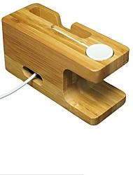 Недорогие -Apple Watch Стенд с адаптером деревянный Стол