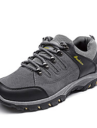 cheap -Men's Shoes PU Spring / Fall Comfort Athletic Shoes Hiking Shoes Black / Gray / Army Green